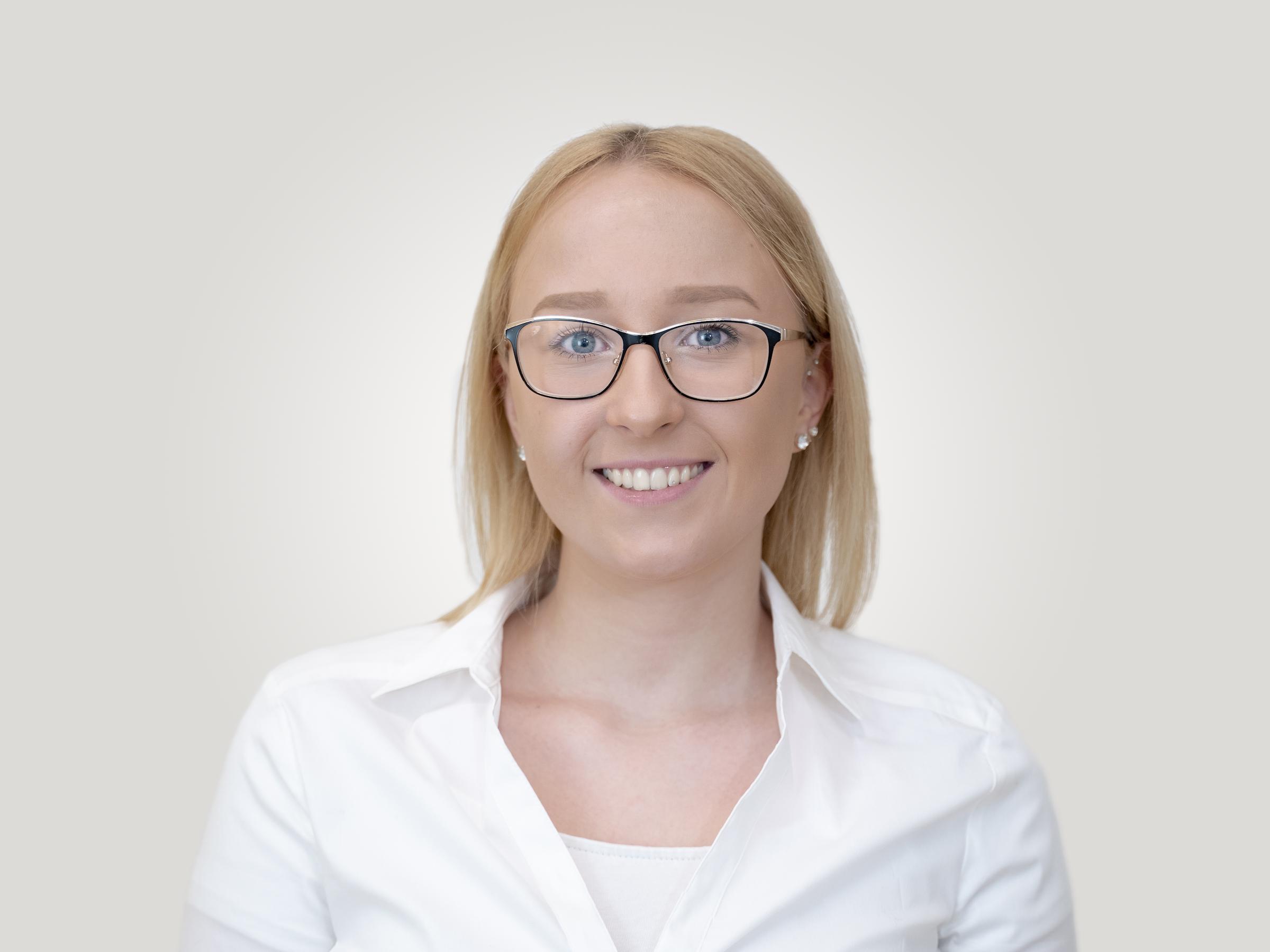 Luisa Stolp Mitarbeiterin MKG PLUS Münster